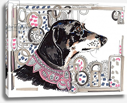 Постер Чамберс Джо (совр) Lacey The Dachshund, 2013,