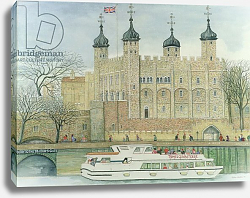 Постер Лоусон Джиллиан (совр) The Tower of London