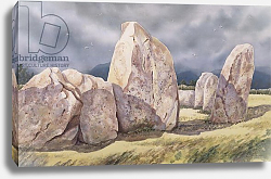 Постер Давид Жюль (совр) Stones of Castlerigg, Cumbria, 1984