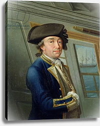 Постер Серрес Доминик Portrait of Captain William Locker 1769