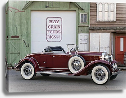 Постер Cadillac V12 370-A Roadster by Fleetwood '1931