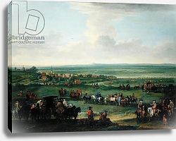 Постер Уоттон Джон George I at Newmarket, 4th or 5th October 1717, c.1717