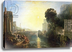 Постер Тернер Уильям (William Turner) Dido building Carthage, or The Rise of the Carthaginian Empire, 1815