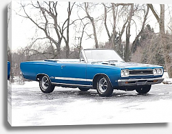 Постер Plymouth GTX Convertible '1968