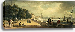 Постер Сэндби Поль View of the City from the Terrace of Somerset House