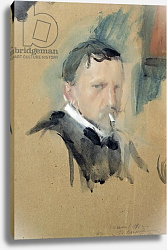 Постер Серов Валентин Self Portrait, 1901