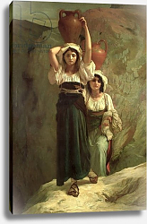 Постер Херберт Антуан The Girls of Alvito, 1855