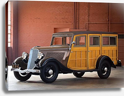 Постер Ford V8 Station Wagon '1933