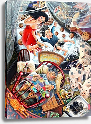Постер Тодд Тони (совр) Evans the Death & Mr Waldo dream their own dreams, 2005