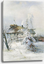 Постер Саврасов Алексей Зима. 1873