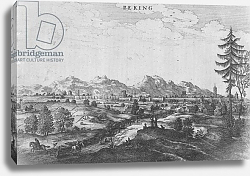 Постер Огилби Джон (карты) Peking, an illustration from Jan Nieuhof's 'An Embassy to China', published 1665
