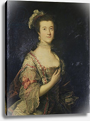 Постер Рейнолдс Джошуа Anne Stanley later Lady Mendip, 1755