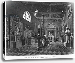 Постер Ваузель Джон Second view of the introductory room, Musee des Monuments Francais, Paris, 1816
