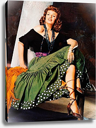 Постер Hayworth, Rita (Loves Of Carmen, The)