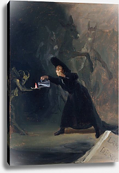 Постер Гойя Франсиско (Francisco de Goya) A Scene from 'The Forcibly Bewitched'