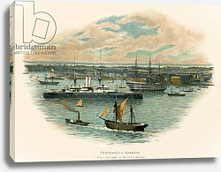 Постер Уилкинсон Чарльз Portsmouth harbour