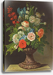 Постер Джуел Йенс Still Life with Flowers 2