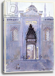 Постер Виллис Люси (совр) Gateway to The Blue Mosque, 1991