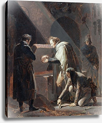 Постер Фрагонар Александр Dominique Vivant Denon Replacing the bones of Le Cid in his Tomb