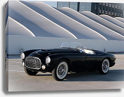 Постер Ferrari 212 225 Inter Barchetta '1952 дизайн Touring