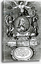 Постер Барлоу Франсис Frontispiece of 'Plutarch's Lives' by Plutarch, pub. in 1656