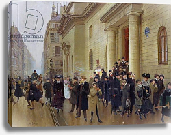 Постер Бакст Леон Leaving the Lycee Condorcet, 1903