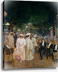 Постер Бакст Леон The Gardens of Paris, or The Beauties of the Night, 1905