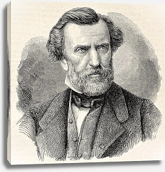 Постер Ambroise Thomas, French composer and Director of the Conservatoire de Paris. Created by Chenu and Ro