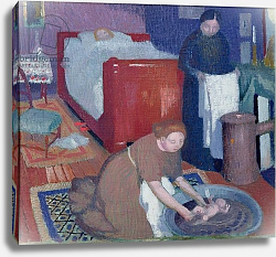 Постер Денис Морис The First Bath, c.1899