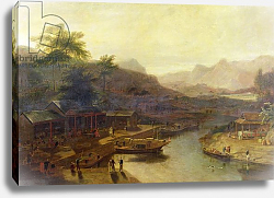 Постер Даниэль Уильям A View in China: Cultivating the Tea Plant, c.1810