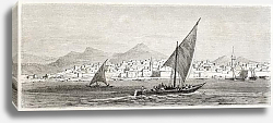 Постер Saudi Arabia. Created by Girardet after Lejean, published on Le Tour du Monde, Paris, 1860