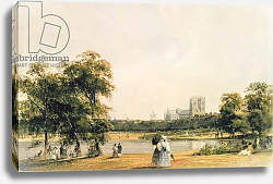 Постер Бойз Томаст (лит) Westminster from St. James's Park