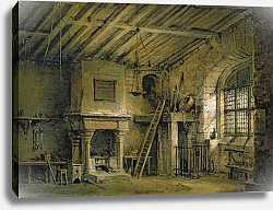 Постер Насмиф Александр The Tolbooth, stage design for 'The Heart of Midlothian', c.1819