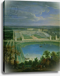 Постер Мартин Жан-Батист The Orangery and the Chateau at Versailles, 1696