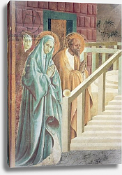 Постер Учелло Паоло Saint Anne and Joachim at the Presentation of Mary in the Temple, 1433-34