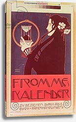 Постер Мозер Коло Design for the Frommes Calendar, for the 14th Exhibition of the Vienna Secession, 1902