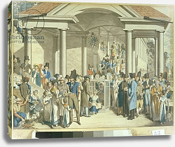 Постер Оптиц Джордж Health Community at the Karlsbader Fountain, 1810