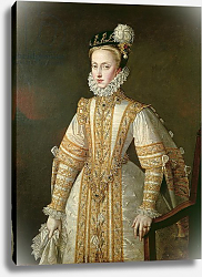 Постер Санчес Коэльо Алонсо Anne of Austria Queen of Spain, c.1571