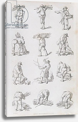 Постер Пайн Уильям (грав) Illustration from 'Etchings of Rustic Figures: for the Embellishment of Landscape', 1815