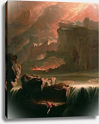 Постер Мартин Джон Sadak in Search of the Waters of Oblivion, 1812