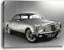 Постер Chrysler Thomas Special Concept '1953 дизайн Ghia