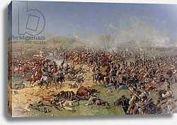 Постер Роубаннд Франц Battle of Borodino on 26th August 1812, 1913
