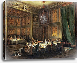 Постер Оливер Майкл Dinner of the Prince of Conti in the Temple, 1766