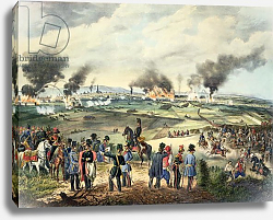 Постер Школа: Австрийская 19в. Siege of Vienna, 28th October 1848