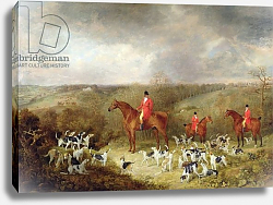 Постер Lord Glamis and his Staghounds, 1823