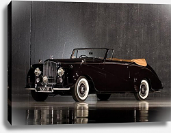 Постер Bentley R-Type Drophead Coupe Park Ward '1953