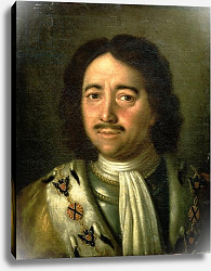 Постер Антропов Алексей Portrait of Tsar Peter I the Great 1772