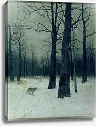 Постер Левитан Исаак Wood in Winter, 1885