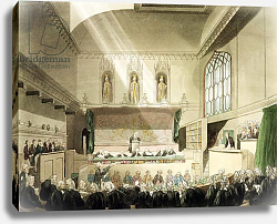 Постер Роуландсон Томас Court of King's Bench, Westminster Hall, engraved by J. Black, 1808