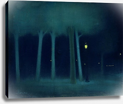 Постер Риппл-Ронай Йозеф A Park at Night, c.1892-95